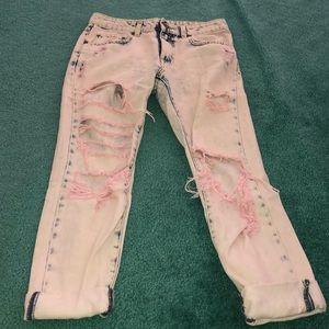 Carmar boyfriend ripped jeans